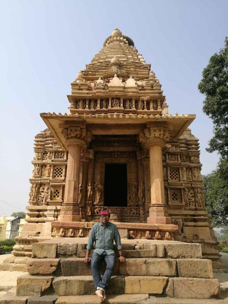 In Khajuraho